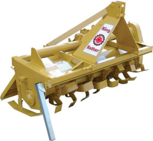 King Kutter Gear-Driven Rotary Tiller – 5ft. Tiller Width, Model Number TG-60-Y