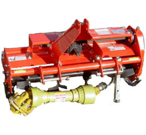 Value-Leader 37″ Adjustable Offset 3pt -Rotary Tiller- Rotary Tiller In Rocky Soil