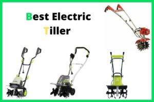 best electric tiller for clay soil and small gardens review