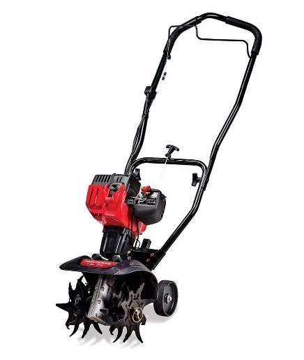 Craftsman C210 9 lawnmower for breaking hard surface