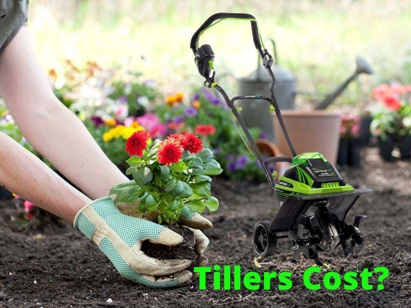 How does garden tiller cost? see pirces