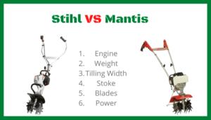 Review of Stihl Tiller VS Mantis