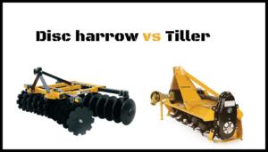 disc harrow vs tiller